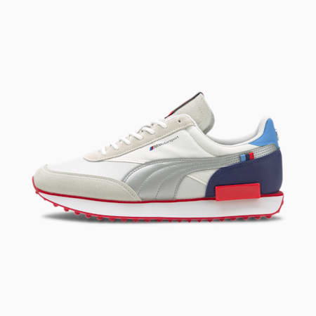 Future Rider BMW M Motorsport Sneakers, P Wht-P Silr-High Risk Red, small