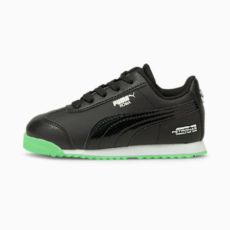 Mercedes-AMG Petronas F1 Roma Toddler Shoes, Puma Black-Puma Black, small