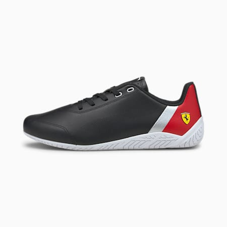 Ferrari Rdg Cat Unisex Shoes, PumaBlk-Rosso Corsa-PumaWht, small-IND