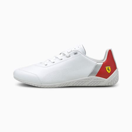 Scuderia Ferrari Ridge Cat Motorsport Shoes, PumaWht-Rosso Corsa-PumaWht, small