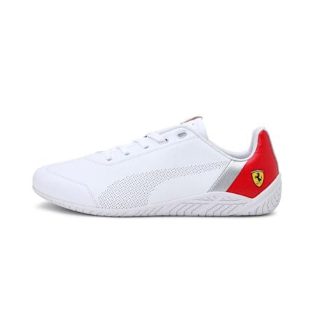 Ferrari Rdg Cat Unisex Shoes, PumaWht-Rosso Corsa-PumaWht, small-IND