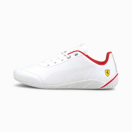 Scuderia Ferrari Ridge Cat Motorsport Shoes, White-White-Rosso Corsa, small-GBR