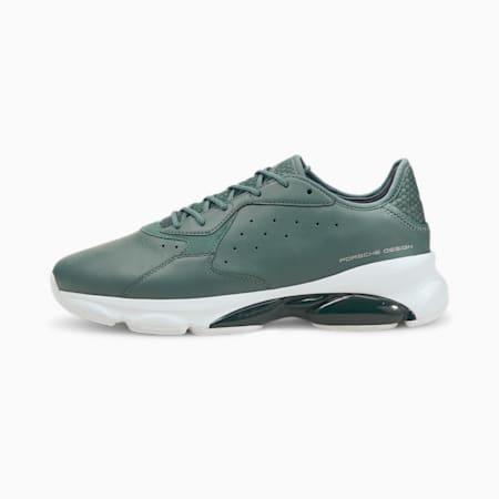 Zapatos de automovilismo Porsche Design RCT Cell Tex para hombre, Silver Pine-Silver Pine, pequeño