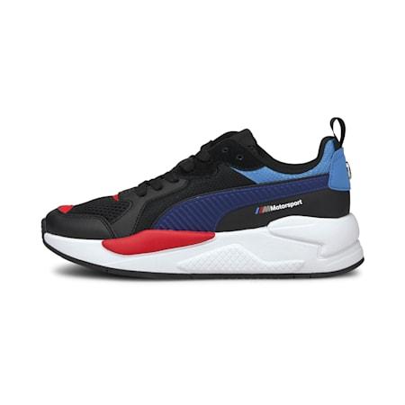 BMW Motorsport X-Ray IMEVA Kid's Motorsport Shoes, Puma Black-Blueprint, small-IND
