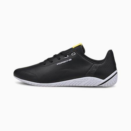 Porsche Legacy Ridge Cat Motorsport Shoes, Black-White-Celandine, small-SEA