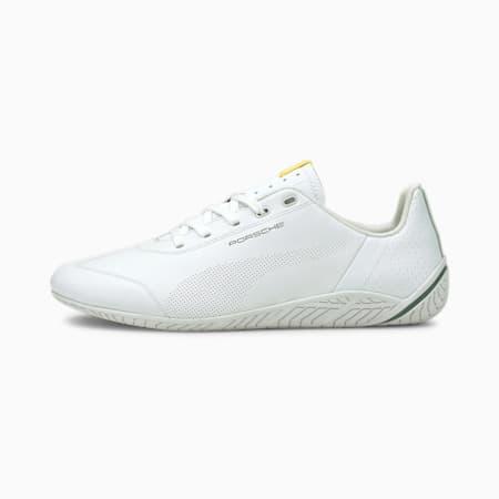 Porsche Legacy Ridge Cat Motorsport Shoes, White-White-Blue Spruce, small-SEA