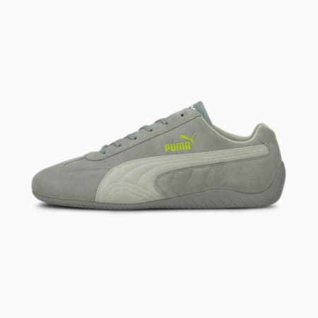 Speedcat OG+ Sparco Motorsport Shoes, Quarry-Gray Violet-Nrgy Yllw, small-GBR