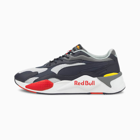 Red Bull Racing RS-X³ Motorsport Shoes, NIGHT SKY-Puma White, small