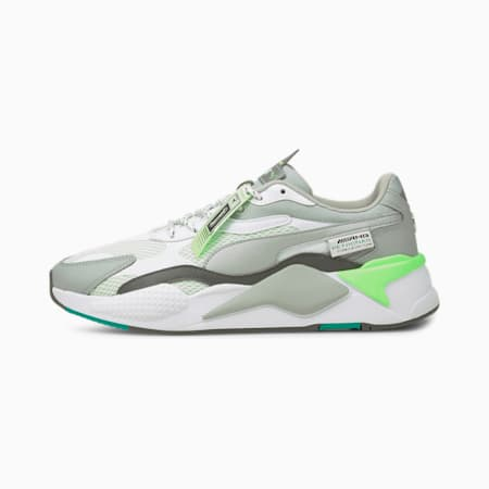 Mercedes F1 RS-X³ Motorsport Shoes, Puma White-Puma Silver, small