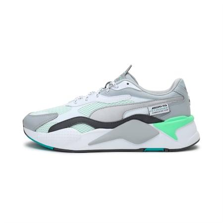 Mercedes RS-X³ Unisex Shoes, Puma White-Puma Silver, small-IND
