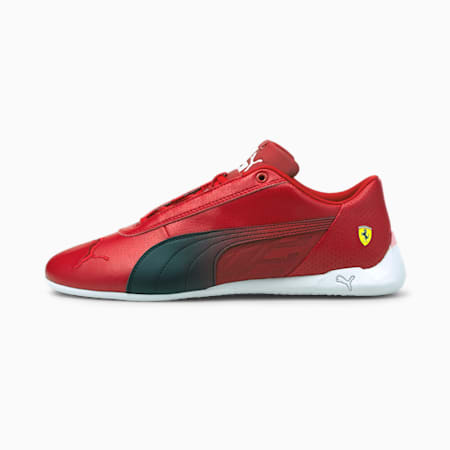 Scuderia Ferrari R-Cat Unisex Shoes, Rosso Corsa-Puma Black, small-IND