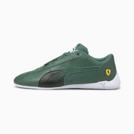 Zapatos de automovilismo ScuderiaFerrari R-Catpara hombre, Blue Spruce-Puma Black, pequeño