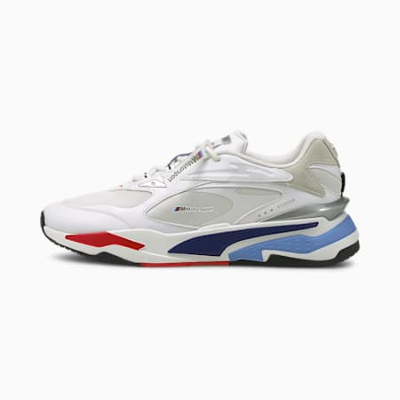 BMW M Motorsport RS-Fast Motorsport Shoes, P White-Marina-High Risk Red, small-IND