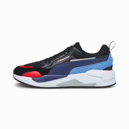 BMW M Motorsport X-Ray 2.0 Motorsport Shoes, Puma Black-Blueprint, small-IND