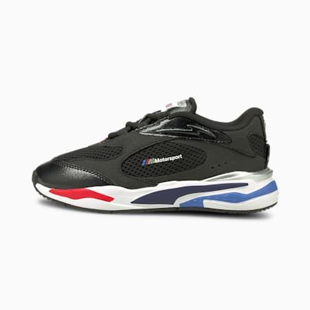 Zapatos BMW M Motorsport RS-Fastpara niños, Puma Black-Puma Silver, pequeño
