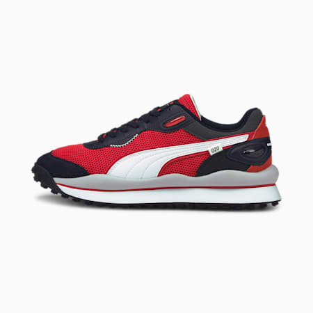 Redbull Racing Style Rider Unisex Shoes, NIGHT SKY-Puma White, small-IND