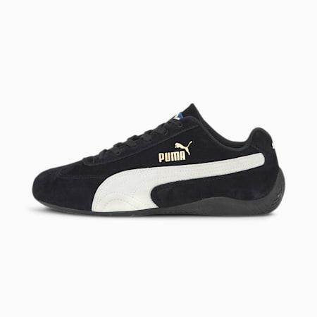 Zapatos deautomovilismoSpeedcat OG Sparco para mujer, Puma Black-Puma White, pequeño