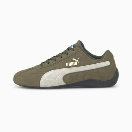 Speedcat OG Sparco Women's Motorsport Shoes, Forest Night-Puma White, small