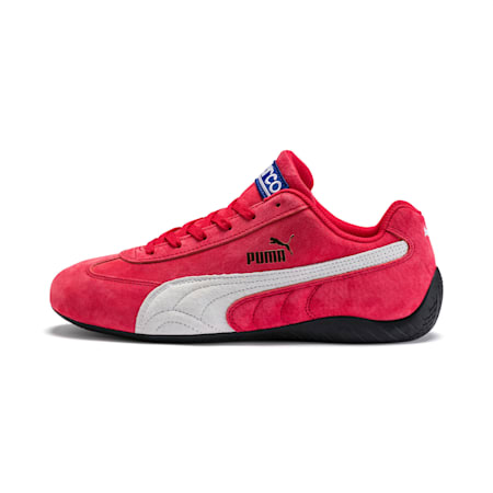 Zapatos deautomovilismoSpeedcat OG Sparco para mujer, Ribbon Red-Puma White, pequeño