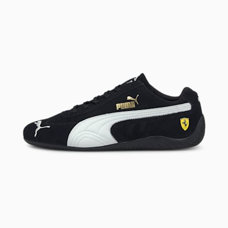Scuderia Ferrari Speedcat Motorsport Shoes, Puma Black-Puma White, small