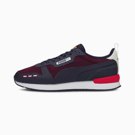 Redbull Racing R78 Unisex Shoes, NIGHT SKY-Chinese Red, small-IND