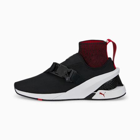 Zapatos de automovilismo Ferrari IONFpara hombre, Puma Black-Puma White, pequeño