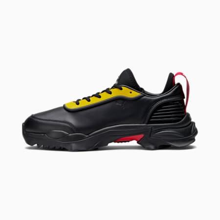 Zapatos Ferrari Nitefox GT para hombre, Puma Black-Rosso Corsa, pequeño