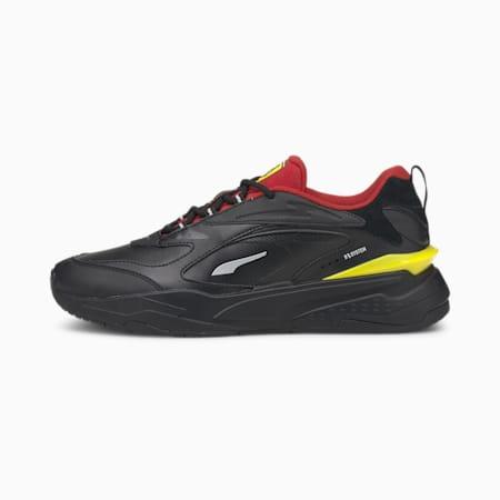 Scuderia Ferrari RS-fast Unisex Shoes, Puma Black-Rosso Corsa, small-IND