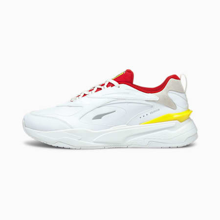 Scuderia Ferrari RS-Fast Motorsport Shoes, Puma White-Rosso Corsa, small