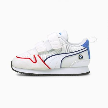 Zapatos BMW M Motorsport R78 para bebés, Puma White-Blueprint, pequeño