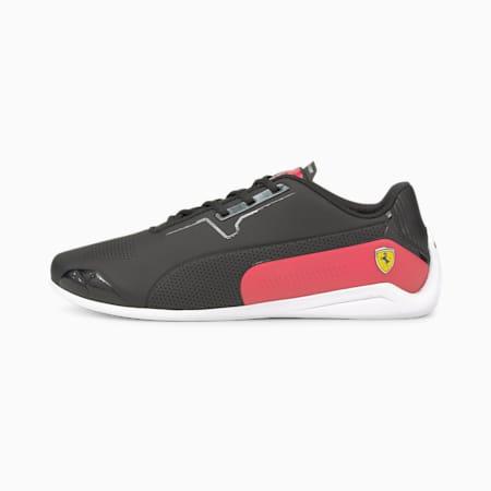 Ferrari Drift Cat 8 Unisex Shoes, Puma Black-Rosso Corsa, small-IND