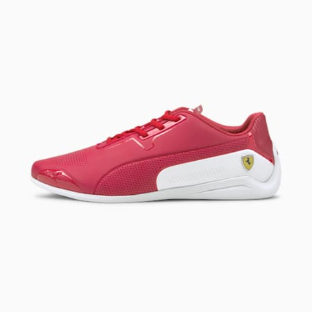 Ferrari Drift Cat 8 Unisex Shoes, Rosso Corsa-Puma White, small-IND