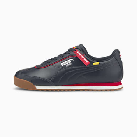 Zapatos deportivos de automovilismo Red Bull Racing Roma Via, NIGHT SKY-Chinese Red, pequeño