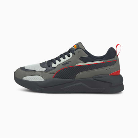 Red Bull Racing X-Ray 2 Unisex Shoes, Chinese Red-Puma White-NIGHT SKY, small-IND