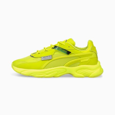 Mercedes F1 RS-Connect Unisex Shoes, Nrgy Yellow-Nrgy Yellow-Nrgy Yellow, small-IND