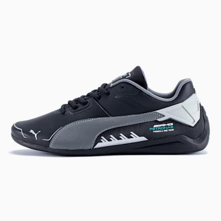 Mercedes F1 Drift Cat Delta Motorsport Shoes, Puma Black-Mercedes Team Silver, small-GBR