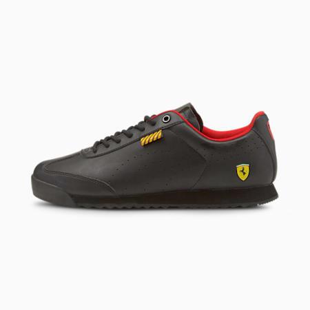 페라리 Roma Via 모터스포츠 슈즈/Ferrari Roma Via Perf, Puma Black-Puma Black, small-KOR