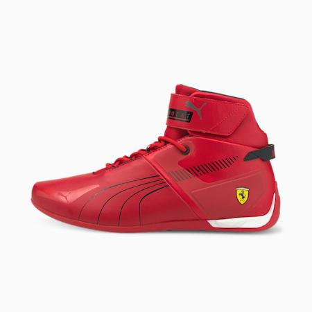 Espadrilles Motorsport montantes Scuderia Ferrari A3ROCAT, Rosso corsa-Noir Puma-Blanc Puma, petit