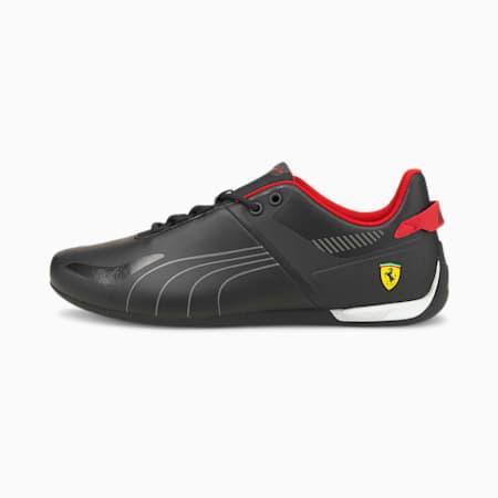 Scuderia Ferrari A3ROCAT Unisex Shoes, Puma Black-Smoked Pearl-Rosso Corsa, small-IND