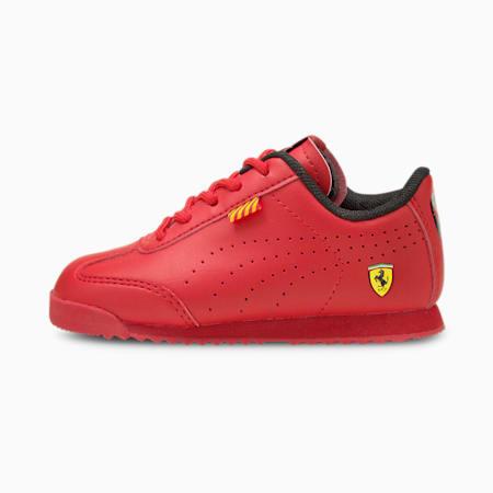 Zapatos Ferrari Roma Via Perf para bebé, Rosso Corsa-Rosso Corsa, pequeño