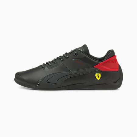 Chaussures de sport automobile Scuderia Ferrari Drift Cat Delta, Puma Black-Rosso Corsa, small