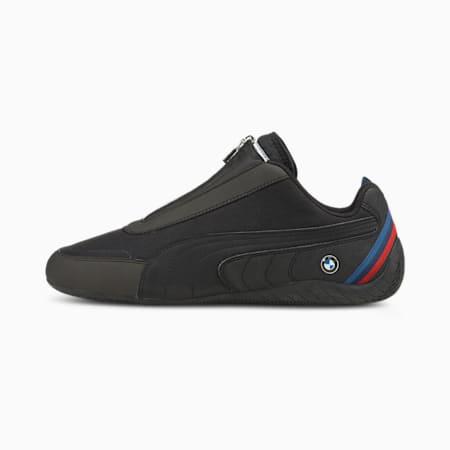 BMW M Motorsport Speedcat Unisex Shoes, Puma Black-Puma Black, small-IND