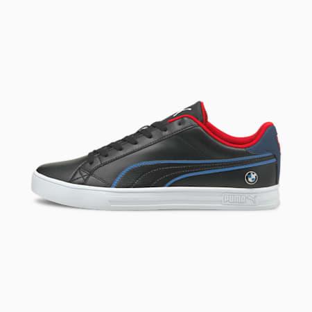 Zapatos deportivos de automovilismoBMW M Motorsport Smash Vulcanised V3, Black-Estate Blue-White, pequeño