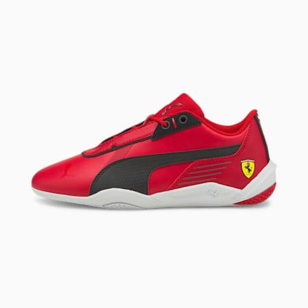 Zapatos de automovilismo Scuderia Ferrari R-Cat Machina JR, Rosso Corsa-Puma Black-Puma White, pequeño