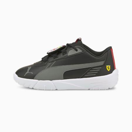 Scuderia Ferrari R-Cat Machina Kids' Motorsport Shoes, Puma Black-Puma White, small-GBR