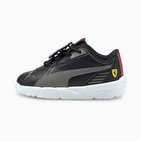 Scuderia Ferrari R-Cat Machina Babies' Motorsport Shoes, Puma Black-Puma White, small-GBR