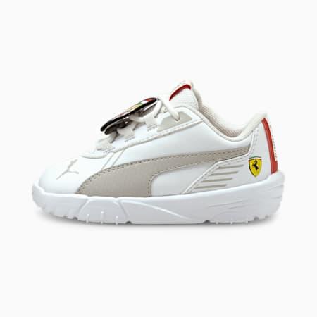 Scuderia Ferrari R-Cat Machina Babies' Motorsport Shoes, Puma White-Puma White, small-GBR