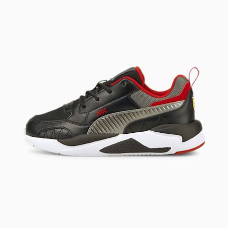 Ferrari X-Ray Kid's Shoes, Puma Black-Smoked Pearl, small-IND