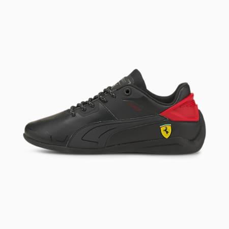 Zapatos deportivos Scuderia Ferrari Drift Cat Delta para jóvenes, Puma Black-Rosso Corsa, pequeño