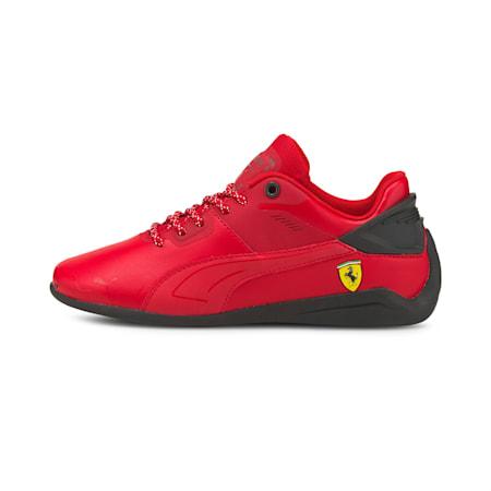Ferrari Drift Cat Delta Kid's Shoes, Rosso Corsa-Puma Black, small-IND